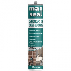 Fuller MAX SEAL Caulk In Colours ACRYLIC SEALANT WARM BROWN 450gm