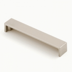 Castella BLOCK 128mm Handle Brushed Nickel - CAS154
