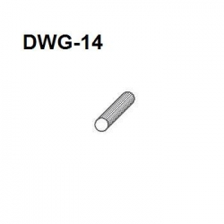 Dowel in CARTON 14.0mm x 62mm MULTIGROOVE per carton *deleted*