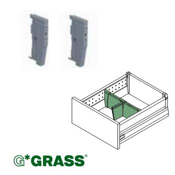 *#* Grass OPTIMA DUOWING PROFILE HOLDER WHITE sold individually