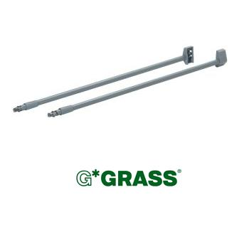 *#* Grass DWD-XP SIDE RAIL 350mm WHITE Quick mount ( sold as set )