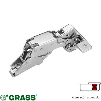 Grass Click-on HINGE 170deg C00 Full-overlay Knock-in Hettich pattern F015072708217
