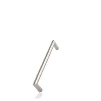 Furnipart handle ANGLE 192mm x 12mm Brushed Stainless F478