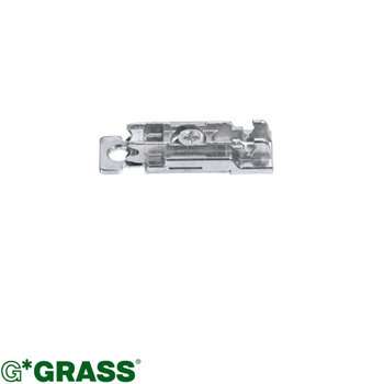 Grass 2D HINGE PLATE linear-mount H03 Height & Depth adjustable Screw-on F060073127236