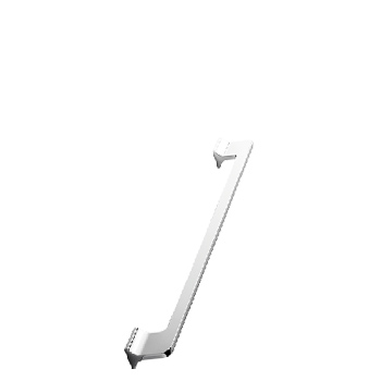 Furnipart handle KEY 160mm Polished Chrome *DELETED* F808