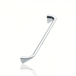 Furnipart handle CHAMFER 160mm Polished Chrome                    F407