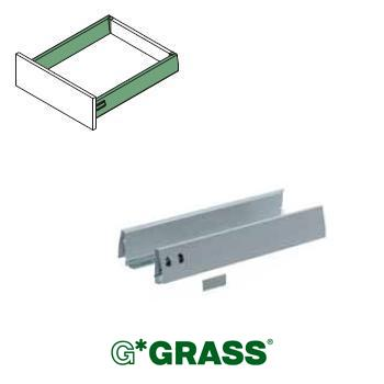 *#* Grass DWD-XP SIDE PROFILE set WHITE H95 Length 450mm