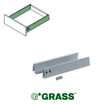 *#* Grass DWD-XP SIDE PROFILE set WHITE H95 Length 500mm
