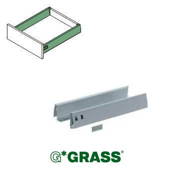 *#* Grass DWD-XP SIDE PROFILE set WHITE H95 Length 550mm