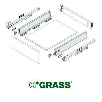 Grass DWD-XP SET PACK 95 x 600mm WHITE