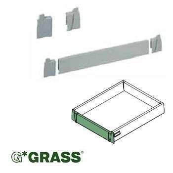 *#* Grass BRACKET SET for H95 internal drawer front Set = Left & Right WHITE