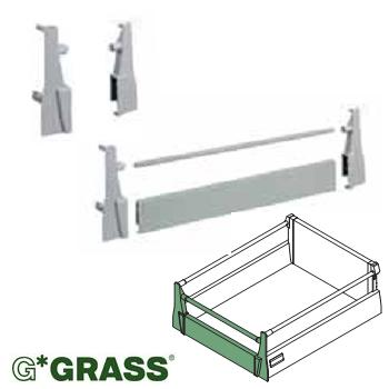 *#* Grass DWD-XP BRACKET -  Internal Pot & Pan - per set WHITE