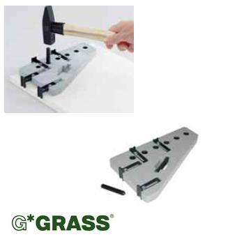 *#* Grass DWD-XP front DRILLING JIG for front fixings, railings & add-ons