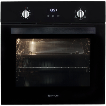 ARTUSI AO601B 60CM ELECTRIC BUILT-IN OVEN BLACK