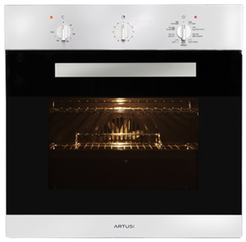 ARTUSI AO650X 60CM 9 FUNCTION BUILT IN OVEN W/ MINUTE MINDER S/S