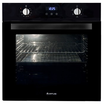 ARTUSI AO676B 60CM ELECTRIC BUILT-IN OVEN BLACK