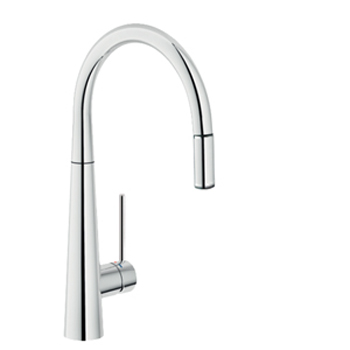 LUXE ARNO 9102/C SINK MIXER WITH PULLOUT SPRAY CHROME