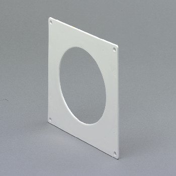 DOMUS 114-5 Wall plate 129mm White plastic