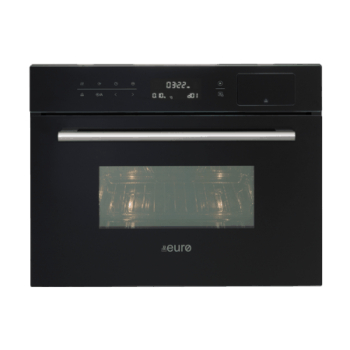 Euro EO45SMWB 45cm Compact Multifunction Built-in Oven - 34L