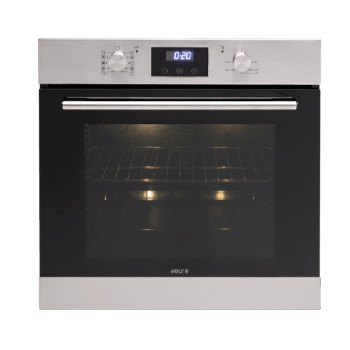 Euro EO6082BX 60cm Large Multifunction Built-in Oven (82L) - Stainless/Black