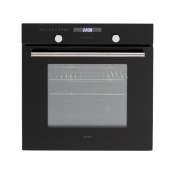 Euro EO60MPYX 60cm Multifunction Built-in Oven - Stainless/Black