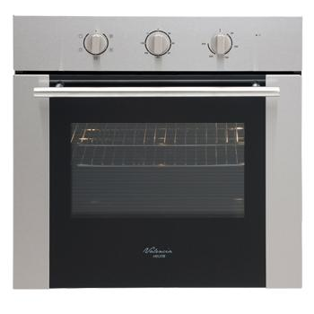 *Euro VALENCIA - EP6004SX underbench/wall oven - Multi-Function 60cm S/Steel Fan forced 5 function 120min cutout timer