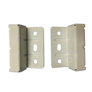 *#* Grass BRACKET - Railing clip per pair for wooden back panel variable height 6788-2