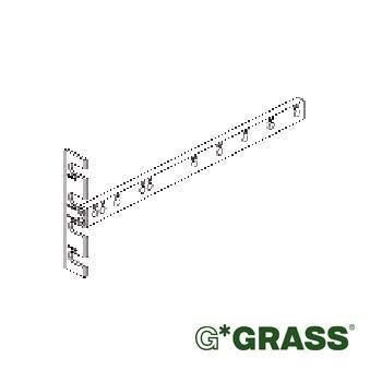 Grass DYNAPRO DRILLING JIG TEMPLATE for cabinet slide member F146109873299