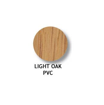 FASTCAP 14mm COVER 022 per card LIGHT OAK PVC