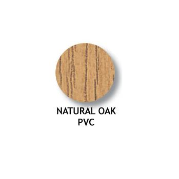FASTCAP 14mm COVER 020 per card NATURAL OAK PVC