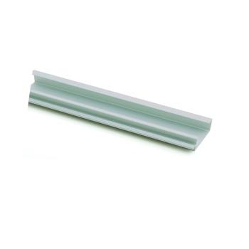Aluminium HANDLE MOULD - FINGER GRIP 2400mm x 38mm to suit 19mm panel 999512300