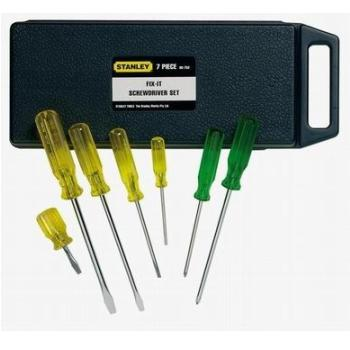 Stanley SCREWDRIVER  Set of 7 assorted screwdrivers  (FMHTO-62627)
