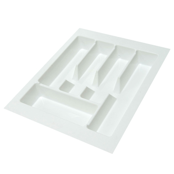 CUTLERY TRAY KCI02 WHITE PLASTIC 445mm WIDE X 484mm DEEP DELUXE
