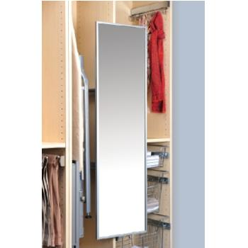 Deluxe Wardrobe MIRROR   PULL OUT U0026 SWIVEL Chrome   1200mm X 330mm S07335GS  + S07735 2